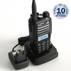 NC-900, dwuzakresowa radiostacja ręczna, 10W