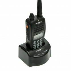 Noszona radiostacja lotnicza z VOR i Bluetooth