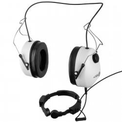 Słuchawki do kasku z laryngofonem
