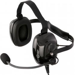Słuchawki z pałąkiem poziomym, podkaskowe