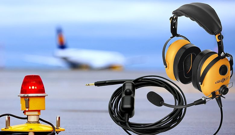 GROUND SUPPORT HEADSETS NC-300-L