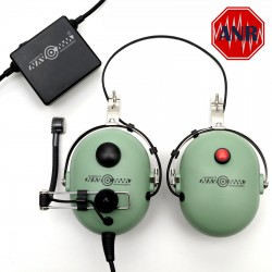 Helmet headsets deluxe with ANR