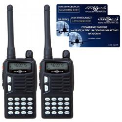 Handheld, 5W transceiver for 70cm band (UHF)