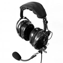 Słuchawki lotnicze z włókna węglowego